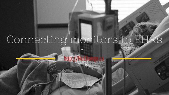 Connecting monitors to EHRS